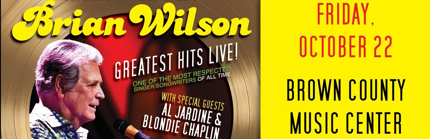 Co-Founder of The Beach Boys Brian Wilson With Special Guests Al Jardine & Blondie Chaplin